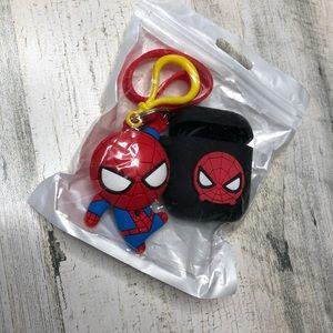 Spider-Man AirPod holder keychain